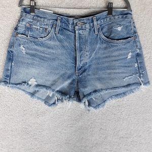 Agolde Shorts - Agolde NWT Parker Vintage High Rise Cutoff Shorts